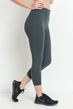 Morgan Highwaist Capri Leggings