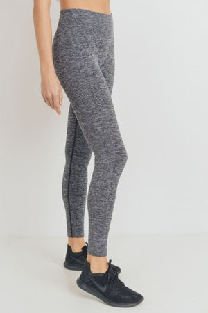 Seamless Melange Highwaist Leggings