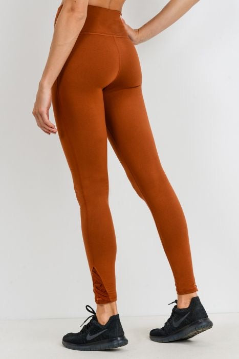 Butter Pecan Highwaist Leggings