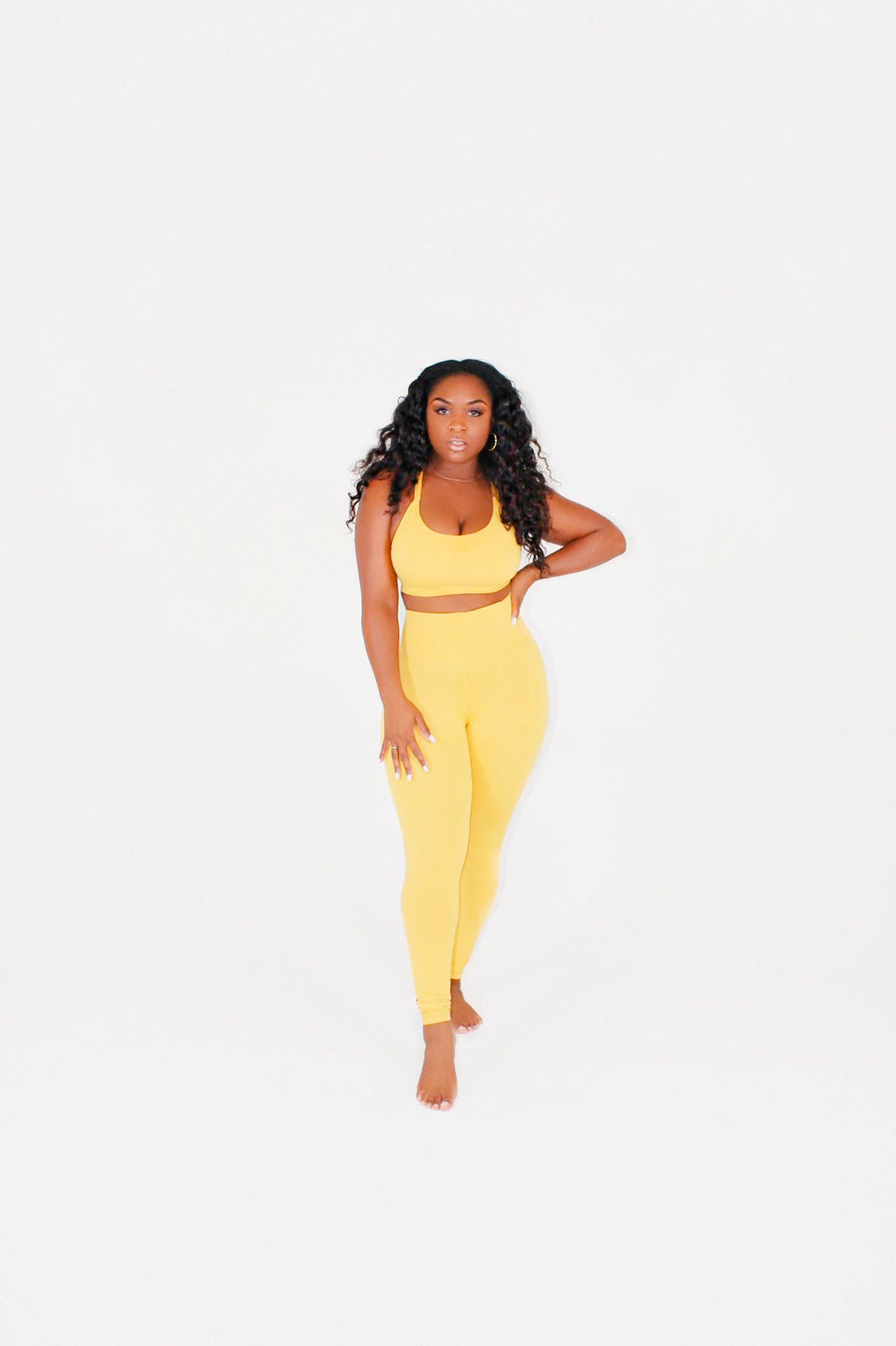 Goldenrod Slate Pant Set