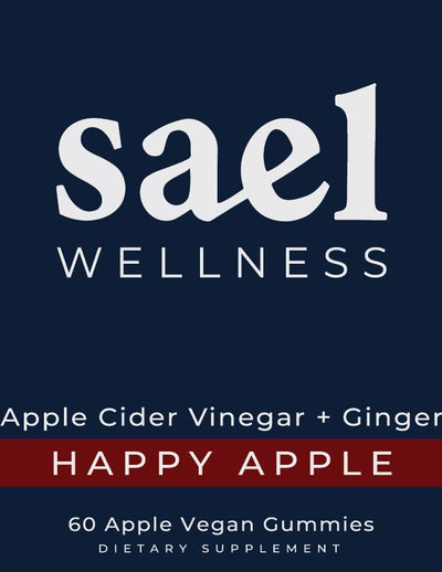 Happy Apple - Apple Cider Vinegar + Ginger Gummy