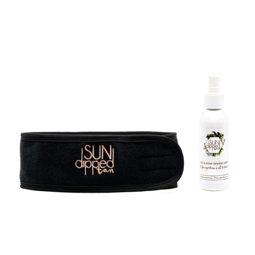 THE SUNDIPPED TANNING WATER & HEADBAND BUNDLE