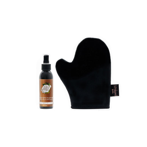 SUNDIPPED TAN INSTANT OIL & MITT BUNDLE