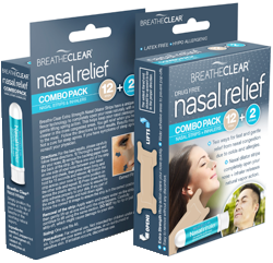 Nasal relief combo pack