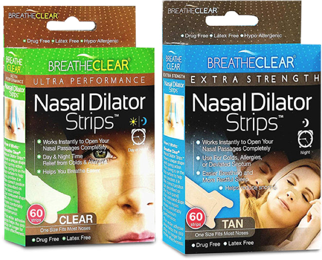 Breathe Clear® Nasal Dilator Strips