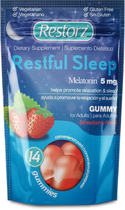 Restorz® Restful Sleep Gummies with Melatonin