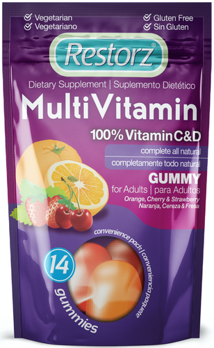 Restorz® Adult Multi Vitamin Gummies