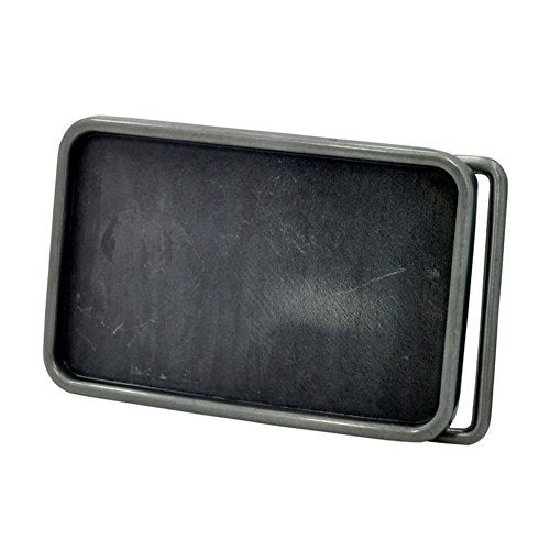 Black Rectangular Buckle