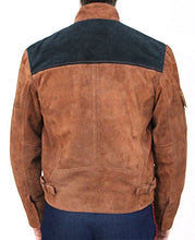 Load image into Gallery viewer, Magnoli Clothiers Solo Suede Jacket Brown