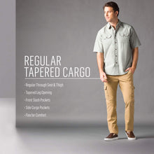 Load image into Gallery viewer, Men's Regular Tapered Cargo Pants