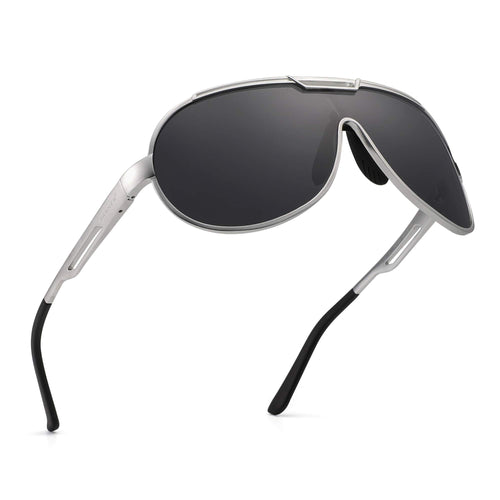 Men's Aviator Metal Frame Sunglasses