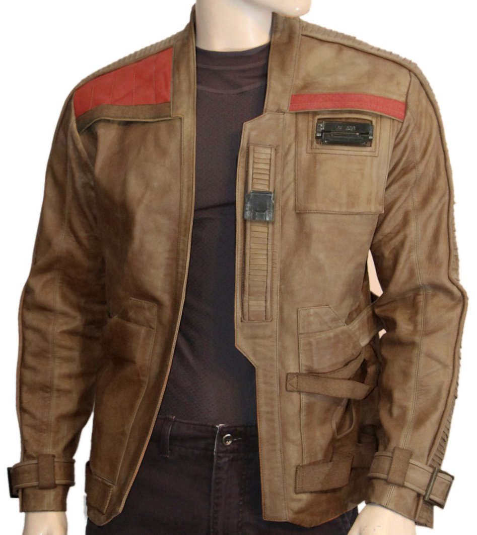 Magnoli Clothiers Finn Poe Leather Jacket Tan