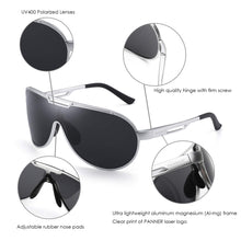 Load image into Gallery viewer, Men's Aviator Metal Frame Sunglasses