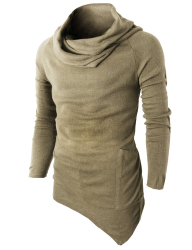 Men's Casual Turtleneck Pullover