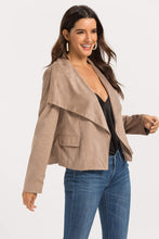 Load image into Gallery viewer, Women's Suede Leather Jacket
