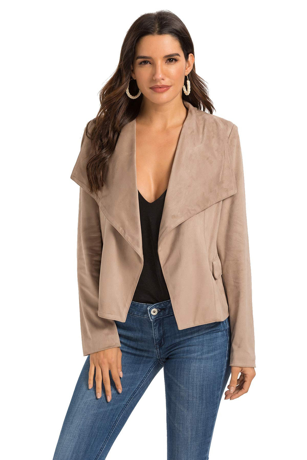 Women's Suede Leather Jacket