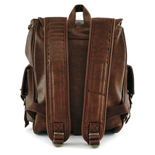 Load image into Gallery viewer, Loungefly Resistance Faux Leather Backpack