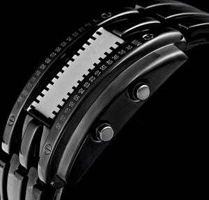 Men's Binary Matrix Watch