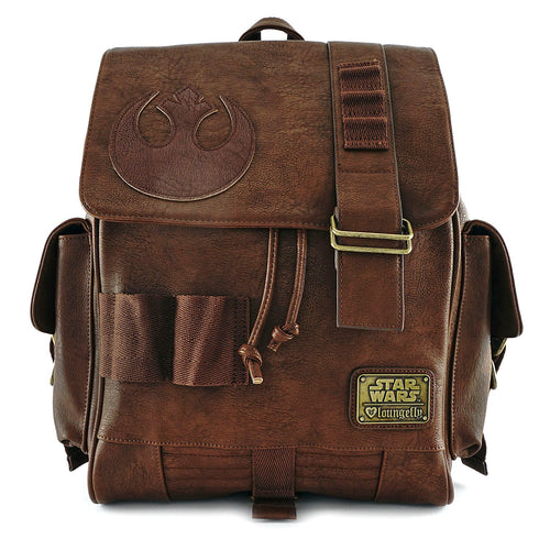 Loungefly Resistance Faux Leather Backpack
