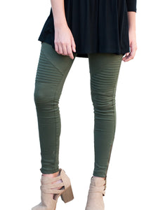 """The Child"" Green Motto Leggings"