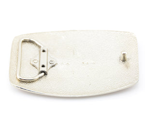 High Polished Silver Belt Buckle