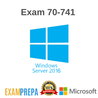 70-741 MCSA Networking with Windows Server 2016 exam
