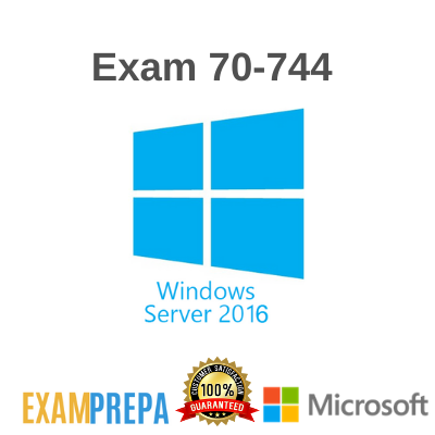 70-744 Securing Windows Server 2016 exam
