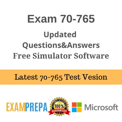 70-765 Provisioning SQL Databases exam