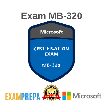 MB-320 Dynamics 365 for Finance and Operations, Manufacturing exam