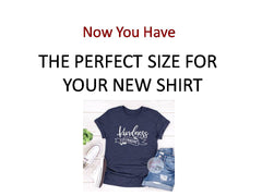 find the perfect tshirt size