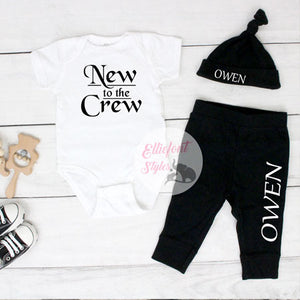 new to the crew hospital outfit