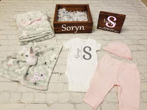 Personalized Baby Gift Set Box