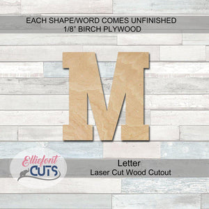 Athletic Wood Letters - Elliefont Styles