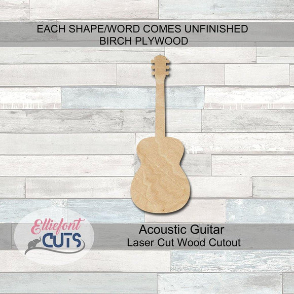 Guitar Wood Cutouts