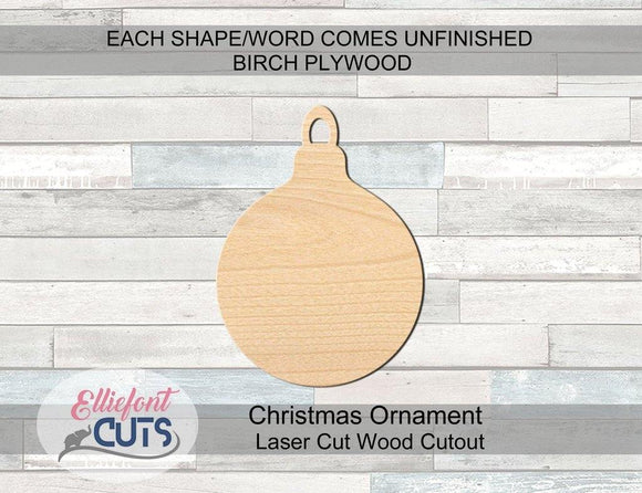 Ornament Wood Cutouts