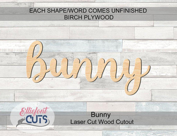 Bunny Wood Words