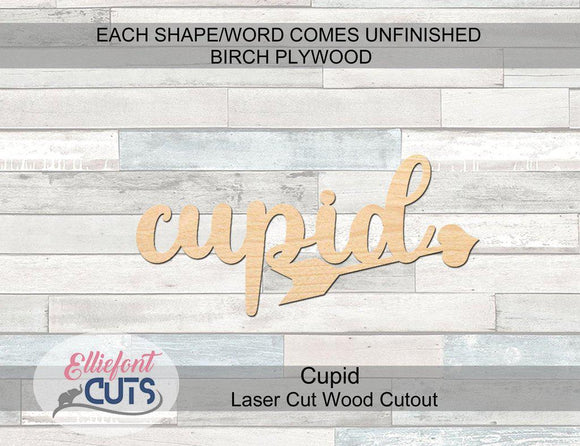 Cupid Wood Words