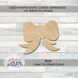 Bow Wood Cutouts