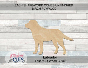 Labrador Wood Cutouts