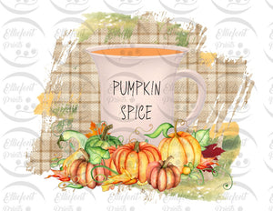 pumpkin spice sublimation png