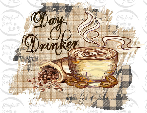 coffee day drinker sublimation png