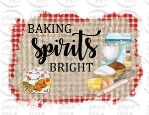 baking spirits bright sublimation png
