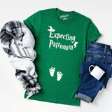 Expecting Patronum Pregnancy Announcement Shirt