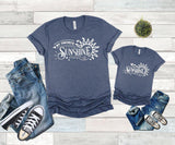 parent child matching shirt sets
