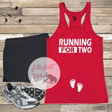 running for two running shirt
