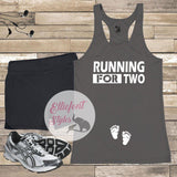 running for two shirt