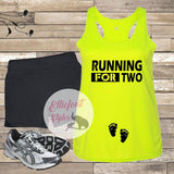 running for two race shirt