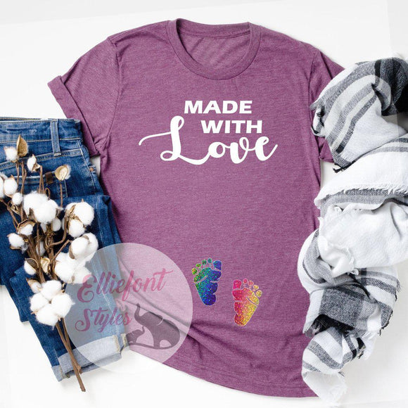 made with love shirt