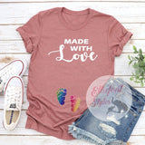 two moms pregnancy shirt