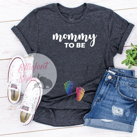 Mommy To Be LGBT Pregnancy Announcement Shirt